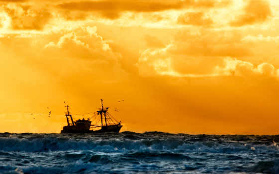 море, судно, корабль