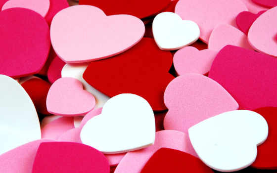 сердечки, сердца, текстура