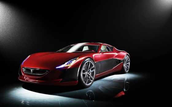 car, concept, rimac, one