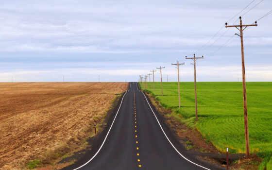 дорога, базе, высоком