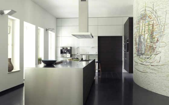 кухни, кухне, интерьере