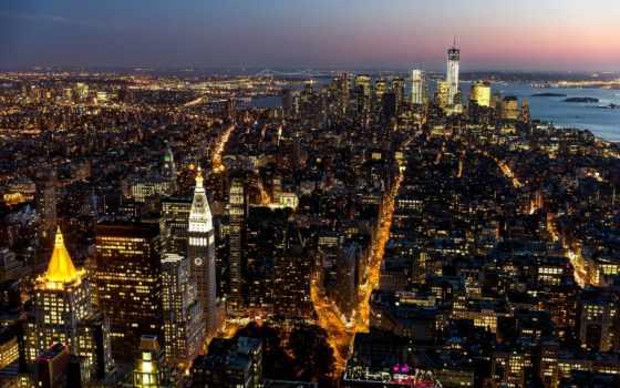 york, new, город Фон № 100375 разрешение 1920x1200