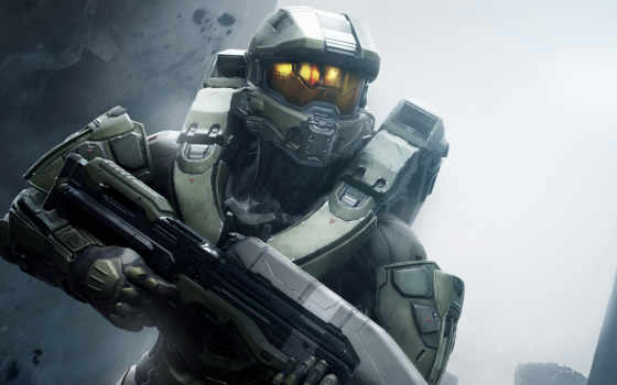 halo, guardians, master, chief, xbox, one, об,