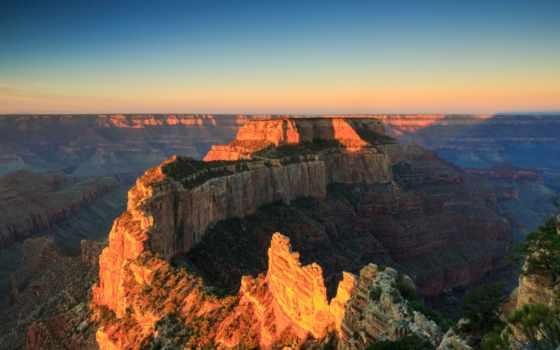 каньон, grand, park, national, arizona, usa, rim, photos, north, jack,