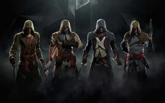 creed, assassin, unity, kings, серий, dead,