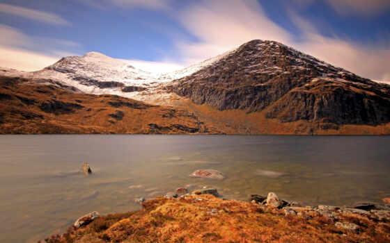 гора, loch, highland, палуба, beethove, природа, cantus