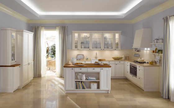 кухни, интерьер, кухню