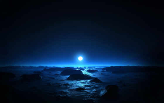 moonlight, night, солнце, background, moon, sea, chan, cool, desktop, nature, sunset, epic, there,