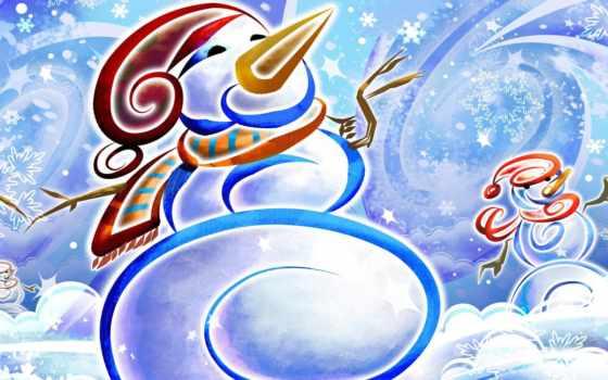 winter, snowman, картинка, desktop, like, новогодняя, снеговики, christmas, frosty, funny,
