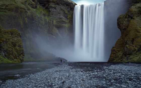водопад, природа Фон № 31745 разрешение 1920x1080