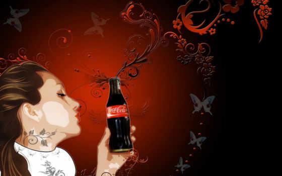 cola, art, coca