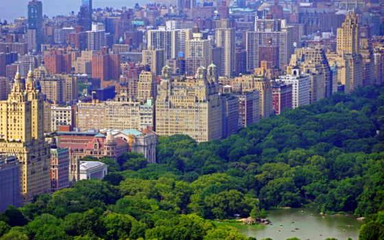 нью, usa, york, города, park, центральный, new,