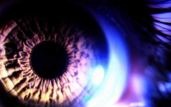 свет, глаз, абстрактные