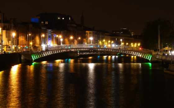 дублин, ирландский, ночь