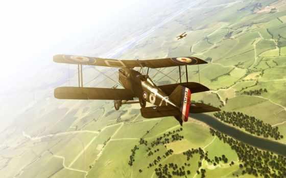 полет, самолет Фон № 728 разрешение 1920x1200