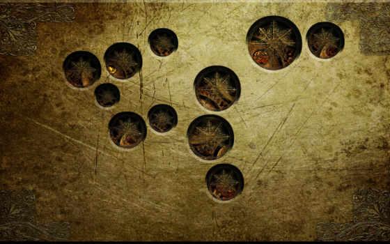 абстракция, круги
