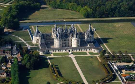 chambord, замок, шамбор, chateau, франции, замки, most, castle, франция, был, desktop, cityscape, версаль, самых, замков, во,