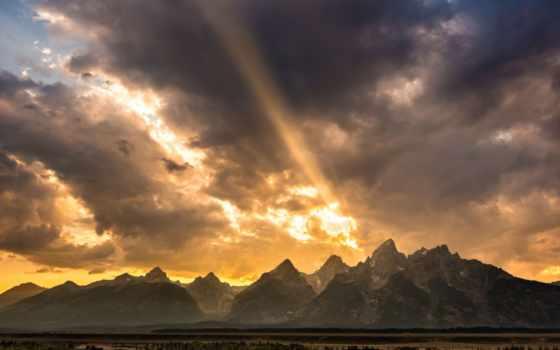 вайоминг, горы