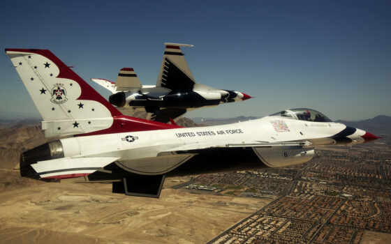 thunderbirds, air, сила, fighting, falcon, flying,