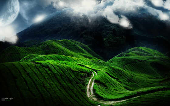 дорога, heaven, горы