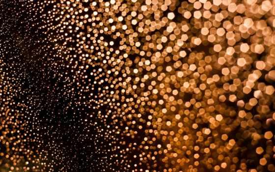 золотые, боке, желтые, огни, gold, оранжевые, дождь, нояб, качественных, природы,
