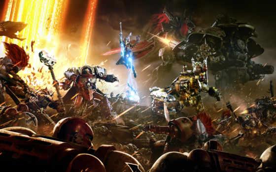 рассвет, war, warhammer, iii, relic, игры,