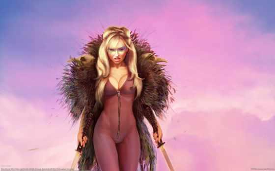 fantasy, devushki, witch, девушка, рыженькая,