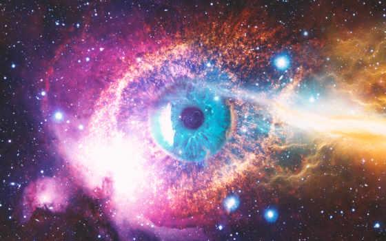 cosmic, космос, глаз