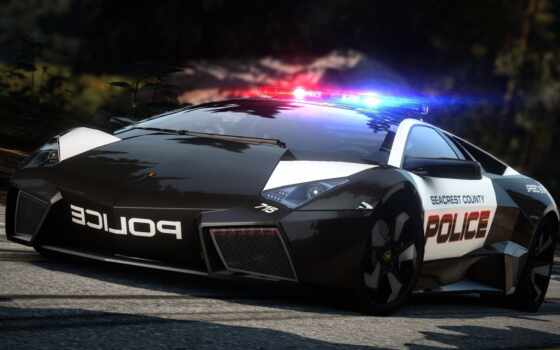 lamborghini, reventon, pursuit, hot, авто, nfs, автомобили,