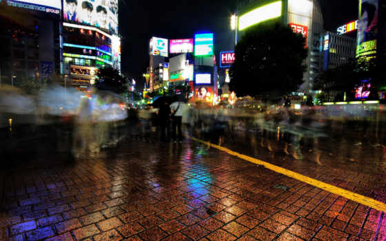ночь, shibuya, like, shot, отлично, watertower, hdr,