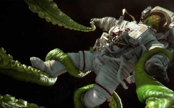 sci, астронавт, космос, kral, ан, tomas, illustration, art, concept,