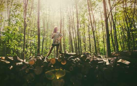 девушка, женщина, лес, модель, favorite, photos, женский, flickr, picssr, trunks,