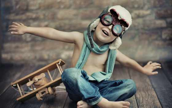 boy, самолёт, ребенок, малыш, children, шлем, очки, джинсы,