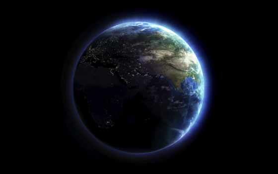земля, планета, атмосфера, землю, lights, от, планеты, наша, шпалери, can, земли, её,