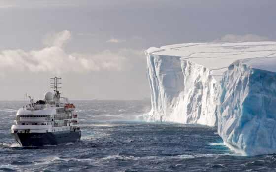 антарктида, iceberg, корабль, серия, море, ocean, ueddella, orangesmile