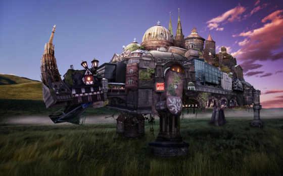 fantasy, город