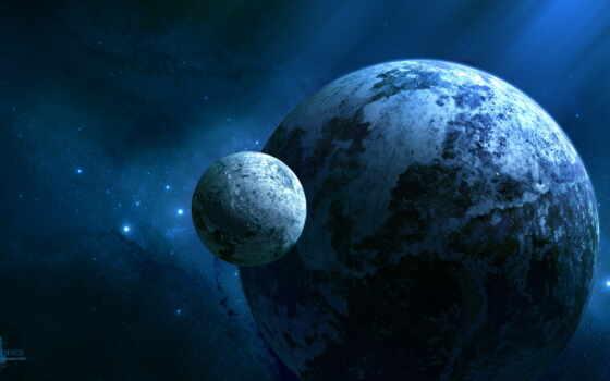космос, планеты, звезды Фон № 56338 разрешение 2560x1440
