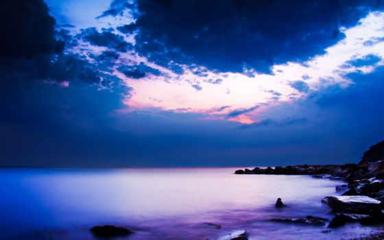 природа, высокого, ocean