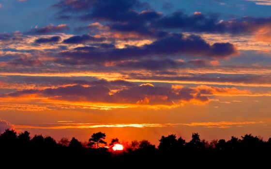 закат, восход, scenery, seaside, природа, кб,