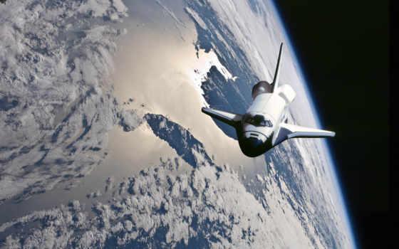 космос, shuttle, атлантис, desktop,
