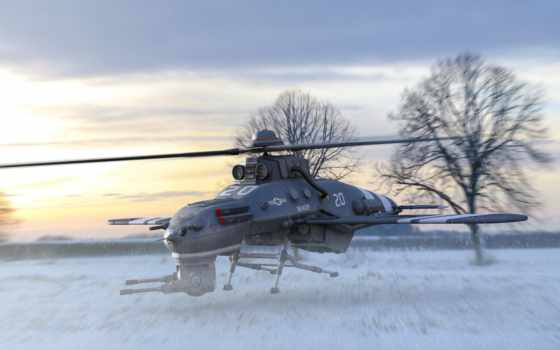drone, invierno, авиация