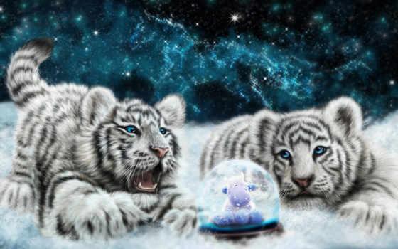 коллекция, тигры