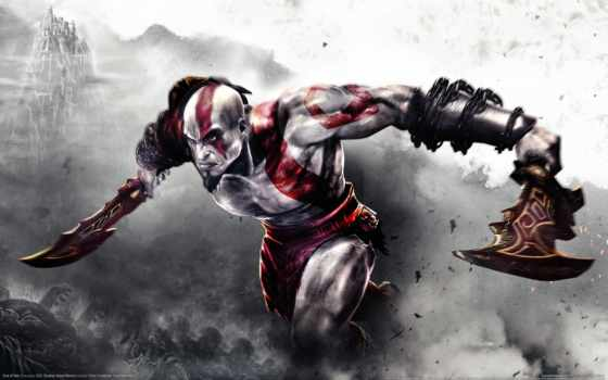 god, war, kratos, войны, creator,