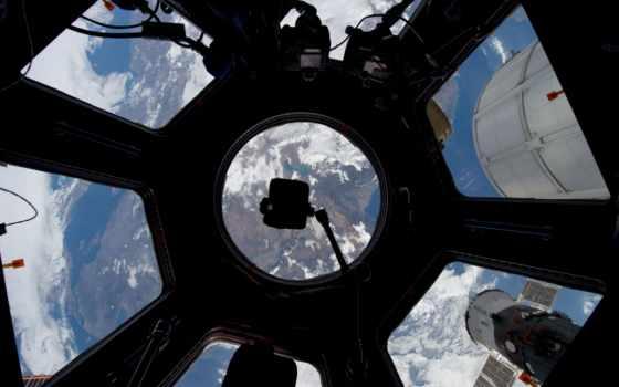 станции, космической, международной, мкс, dome, модуль, янв,