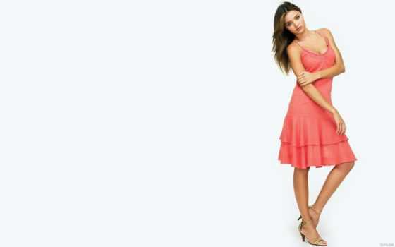 миранда, керр, платье