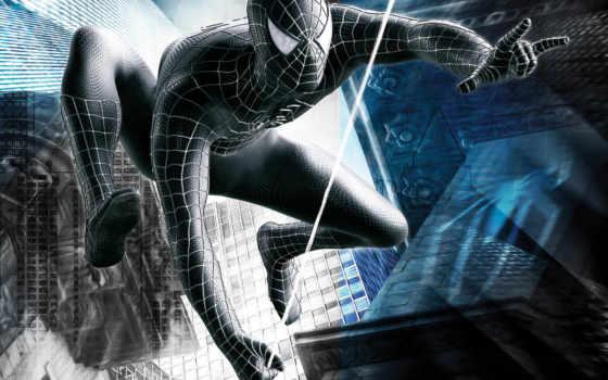 мужчина, паук, enemy