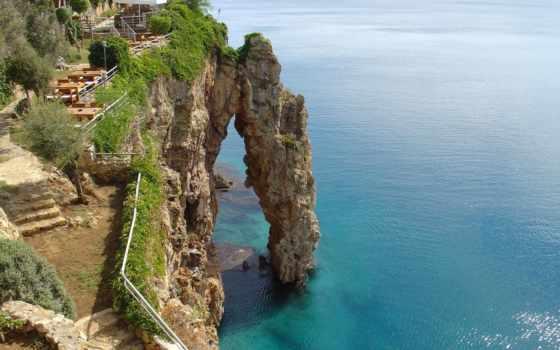 antalya, скалы, море, турции, москва,