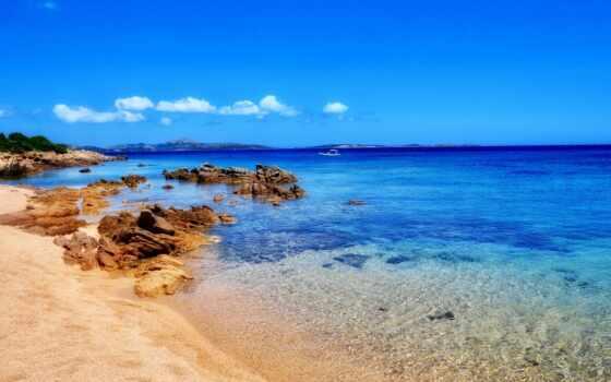 blue, water, những, море, тело, под, trong, небо, дневной, пляж, во