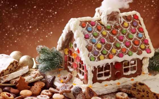 домик, december, christmas, festive, cookie, пряники, gingerbread, волшебство, winte, biscuit, выпечка, основа, праздник, виниловая, bake, candyland, пудра, деревенский, сладости, печенье, снегопад, з