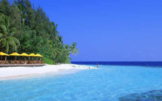 качественные, предпросмотром, мальдивские